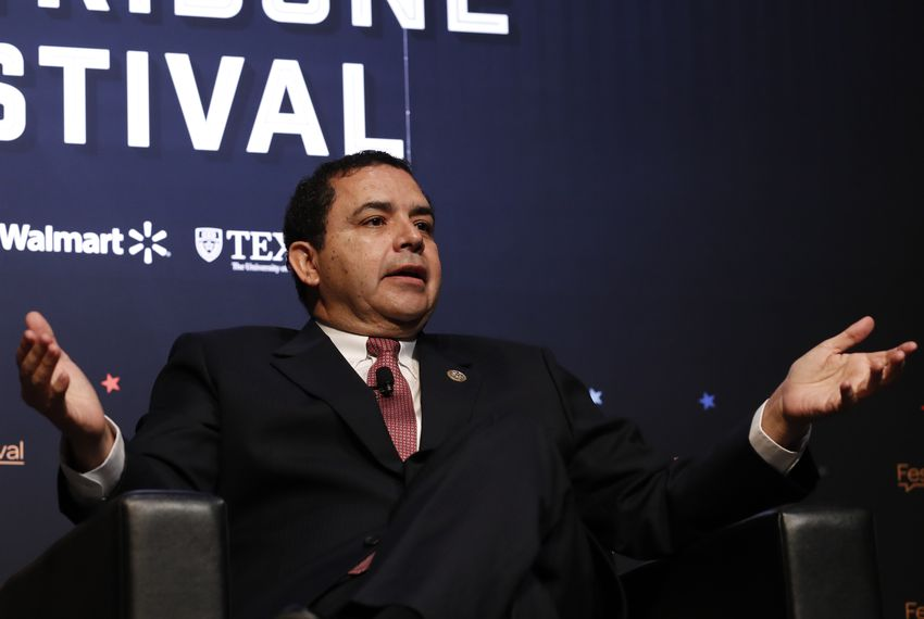 U.S. Rep. Henry Cuellar, D-Laredo, at The Texas Tribune Festival on Sept. 23, 2017.