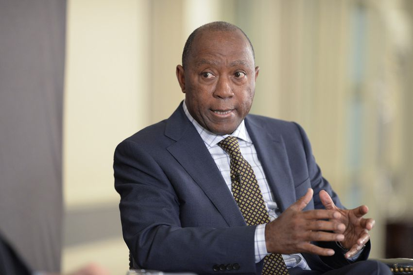 Longtime State Rep. Sylvester Turner, D-Houston, details his plan to run for mayor of Houston during TTEvents conversation on April 30, 2015.