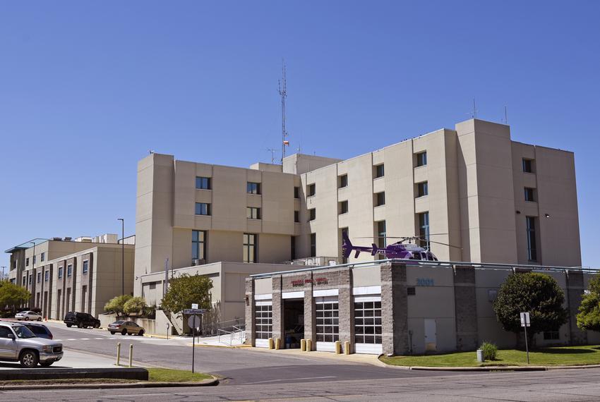 Titus Regional Medical Center in Mt. Pleasant on April 15, 2020.