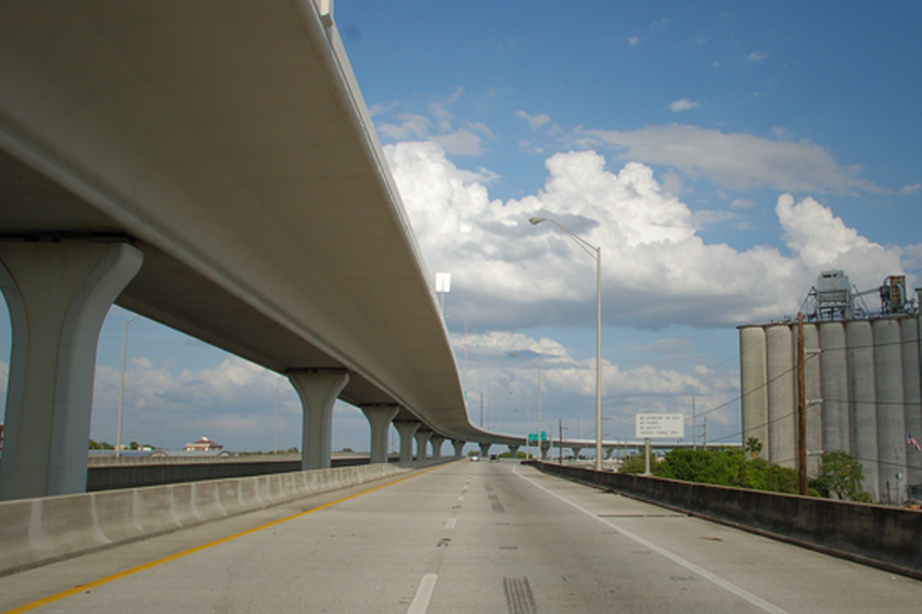 Photograph of a highway