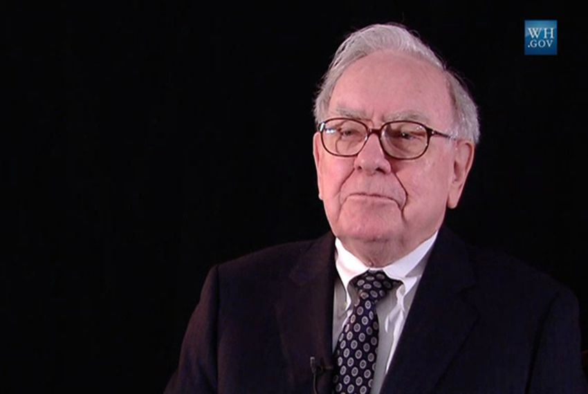 Warren Buffett in 2010.