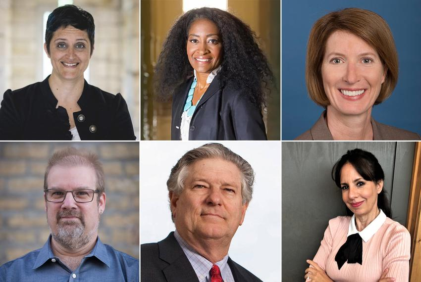 Five Democrats are vying for state House District 47, currently held by state Rep. Paul Workman, R-Austin. Top row: Candace …