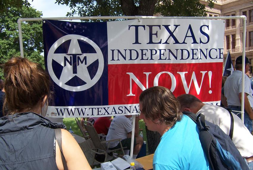 The Texas Nationalist Movement wants the state of Texas to secede from the United States. They have started a petition to ge…