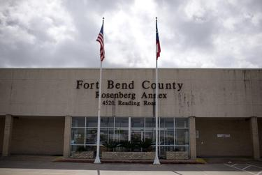 The Fort Bend County Rosenberg Annex center is also serving as a call center for coronavirus concerns in Rosenberg, on March 10, 2020.