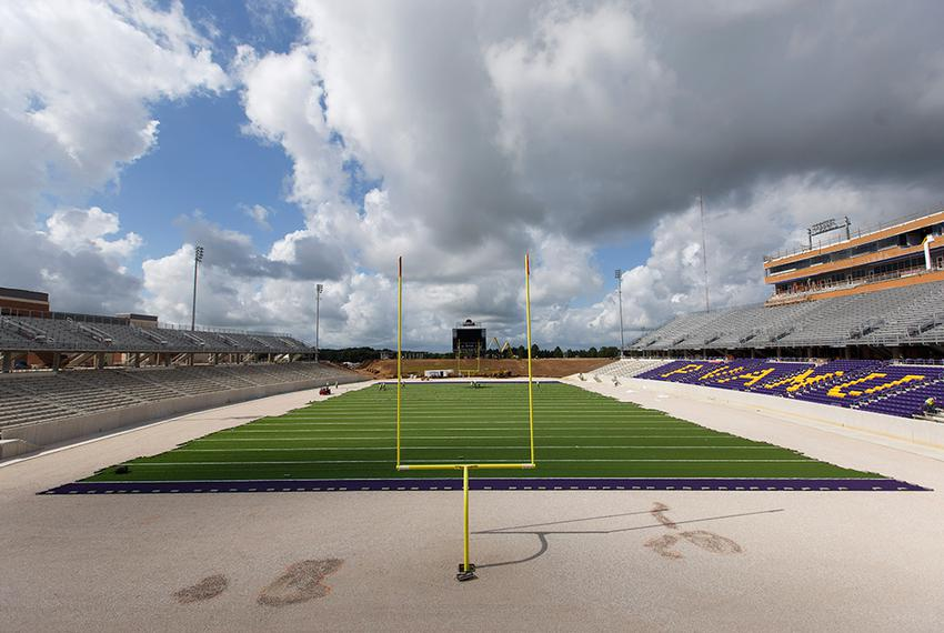 The field at Prairie View A&M University's new football stadium on Wednesday, June 22, 2016. The stadium is expected to op...