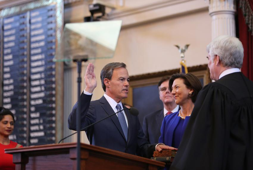 Joe Straus sworn-in as Texas Speaker of the House on January 13th, 2015