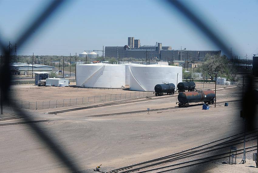 The Gavilon facility in Amarillo sits near residences. Officials say that the ammonium nitrate on site is stored safely, s...