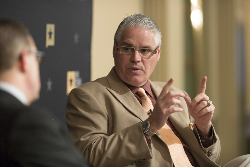 State Rep. Dan Huberty, R-Humble, chairman of the House Education Committee, at at Texas Tribune event on Feb. 28, 2017.