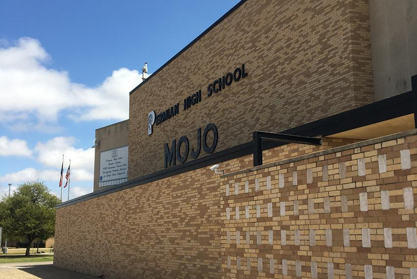 Permian High School in Odessa was built for 2,500 students. Next year, they're expecting student enrollment to reach 4,100.