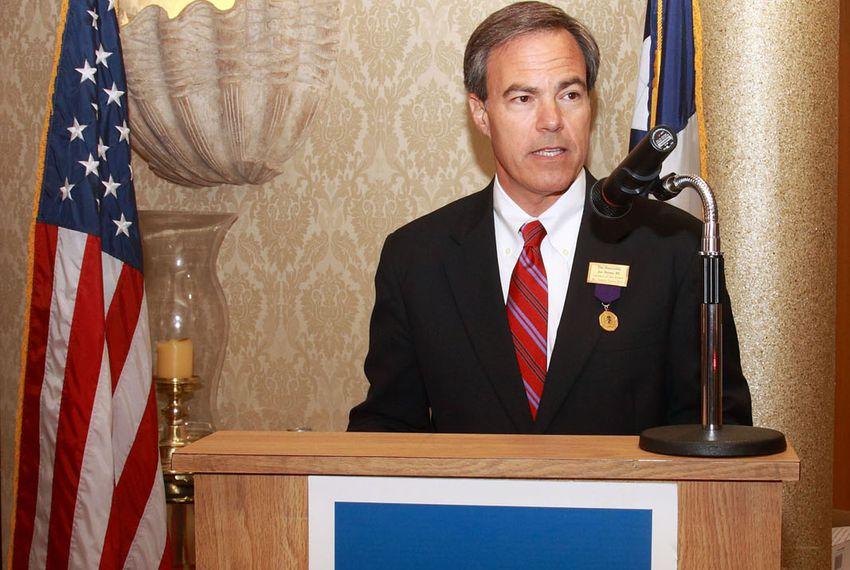 House Speaker Joe Straus is named Mr. South Texas 2011.