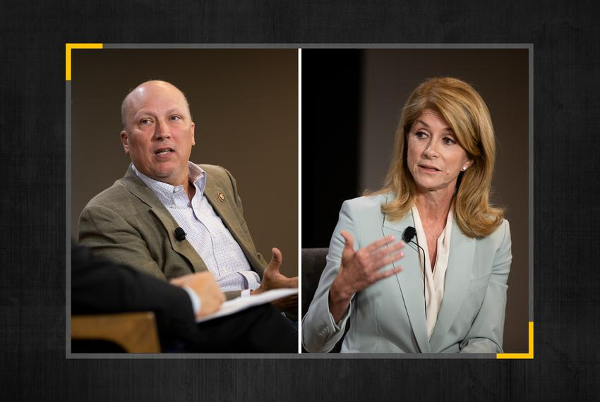 U.S. Rep. Chip Roy, R-Austin, and former state Sen. Wendy Davis race for Texas' 21st Congressional District.
