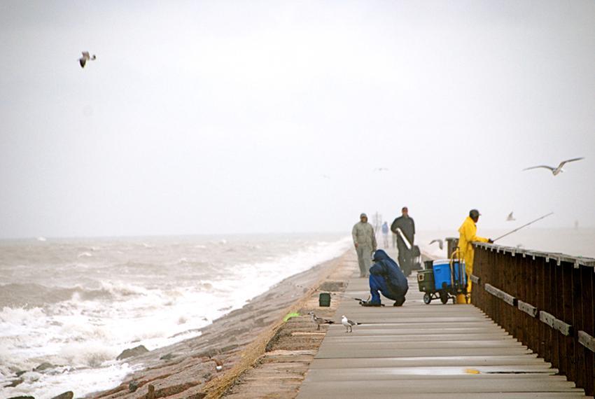 Surfside Jetty Park in Surfside Beach, Texas - October 11, 2009