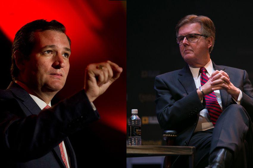 U.S. Sen. Ted Cruz and Lt. Gov. Dan Patrick