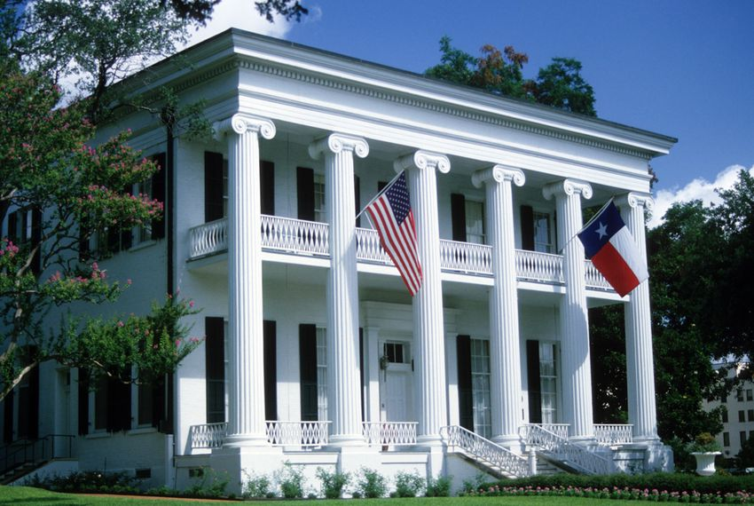The Governor's Mansion, Austin, Texas.
