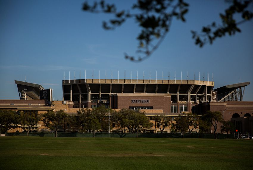 Kyle Field, Texas A&M's football stadium in College Station, on March 26, 2018.
