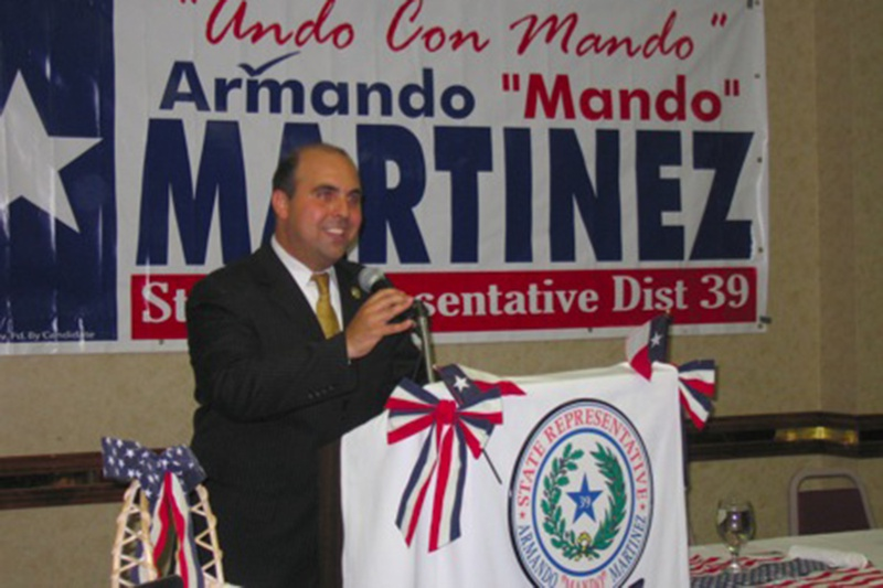 """State Rep. Armando """"Mando"""" Martinez, D-Weslaco."""