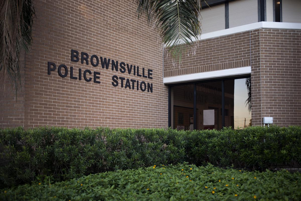 The Brownsville Police Station. Dec. 8, 2020.