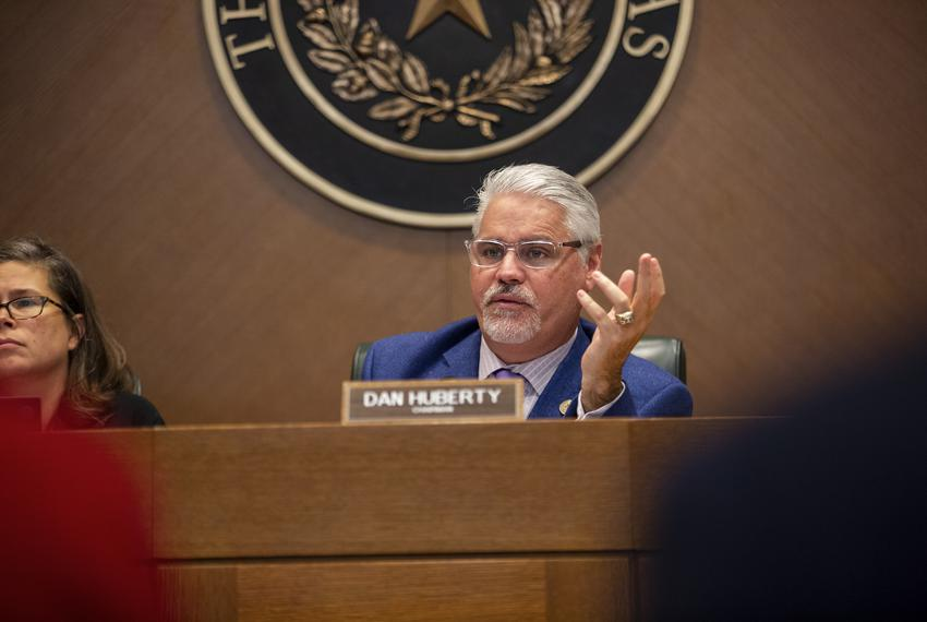 State Rep. Dan Huberty, R-Houston, during the committee hearing on Oct. 28, 2019.