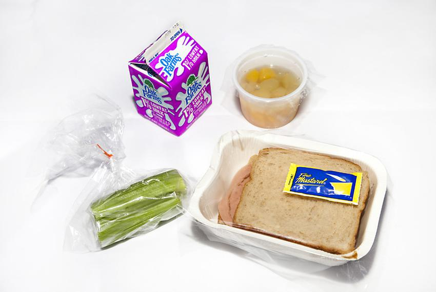 The Summer Food Program began Monday, June 7, 2010. This meal, served at the Austin Boys and Girls Club South, consisted o...