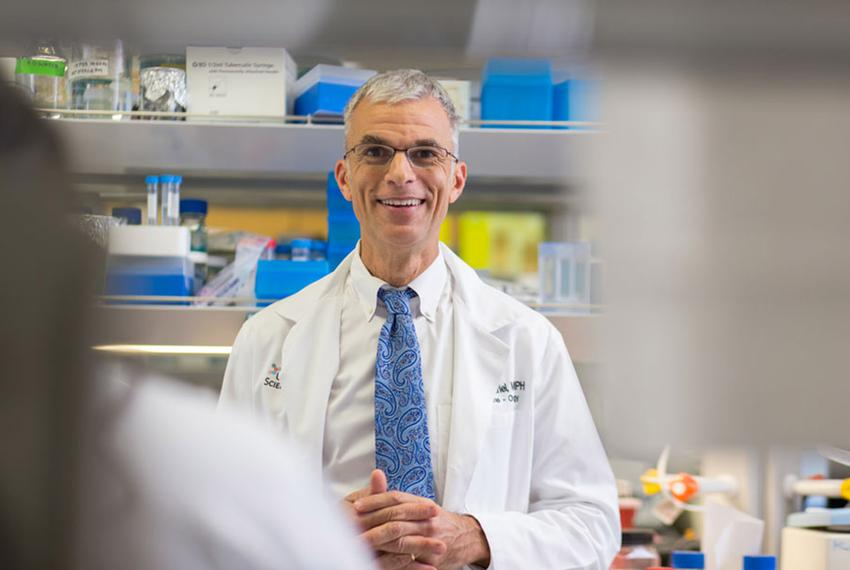 Dr. Tyler Curiel, M.D., M.P.H.,professor, Daisy M. Skinner President's Chair in Cancer Immunology, Division of Hematology/O…