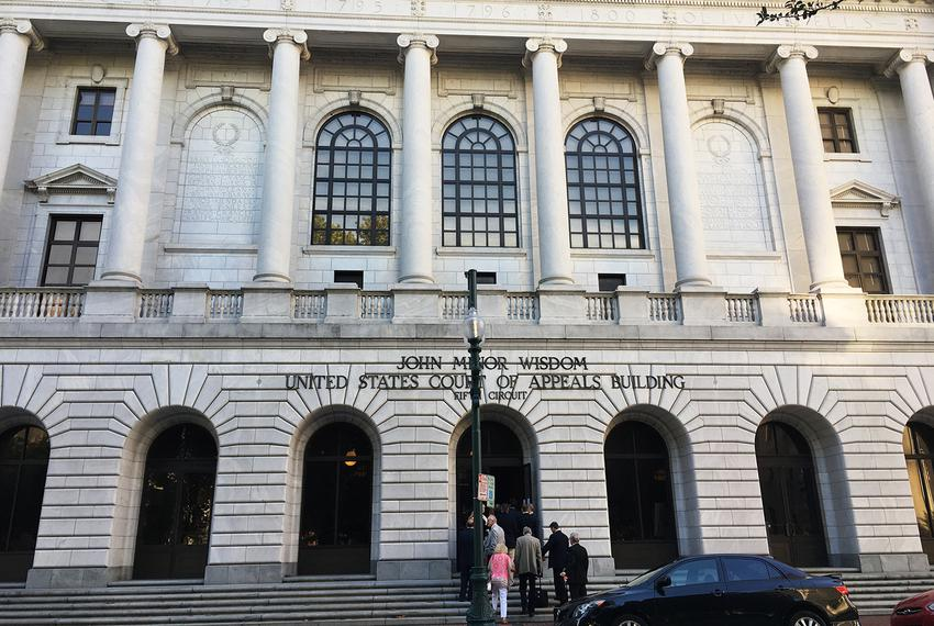 The John Minor Wisdom United States 5th Court of Appeals building in New Orleans, Louisiana, on Oct. 3, 2017.
