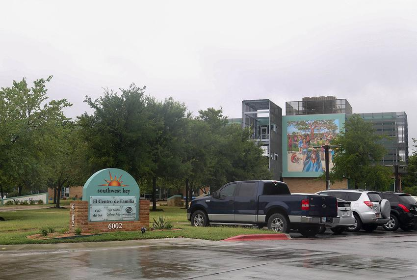 The nonprofit Southwest Key Programs, whose headquarters is in Austin, is housing nearly half the undocumented immigrant kid…
