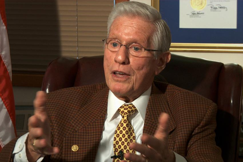 Former state Rep. Leo Berman, R-Tyler, is shown in 2011.