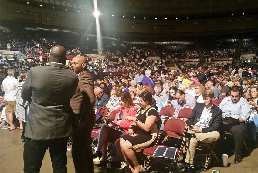 The 2018 Texas Democratic Party convention in Fort Worth.