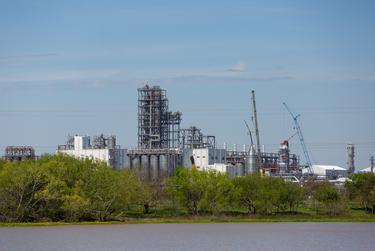 Formosa Plastics plant in Point Comfort, Texas. March 20, 2019.