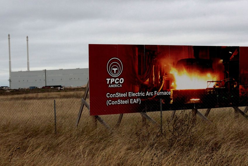 Chinese drilling pipe plant (TPCO America) in Gregory Texas