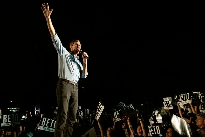 Beto O'Rourke is hosting his first campaign events in Texas since declaring his candidacy for president March 14.