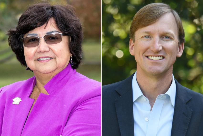 Dallas County Sheriff Lupe Valdez and Houston entrepreneur Andrew White emerged from a crowded field of Democrats running fo…