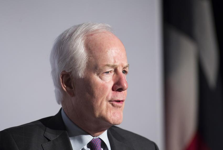 Sen. John Cornyn R-TX during TPPF's annual policy orientation in Austin on January 11, 2019