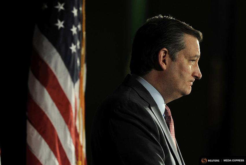 Republican presidential candidate Ted Cruz attended a Pennsylvania campaign kickoff event at the National Constitution Cen...
