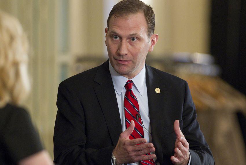 Sen. Charles Schwertner R-Georgetown, at a February Texas Tribune event.