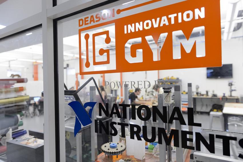 Deason Innovation Gym is housed in the Lyle School of Engineering at Southern Methodist University.