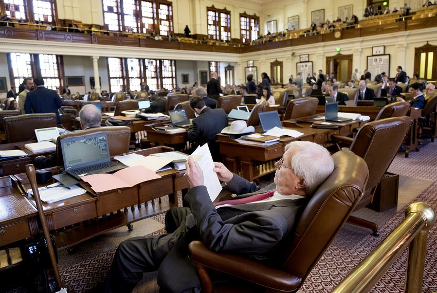 "House Bill 4181, by state Rep. Charlie Geren, R-Fort Worth, would let lawmakers assert ""legislative privilege"" to withhold work-related records that are currently subject to the Texas Public Information Act."