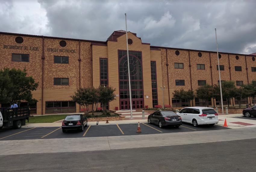 L.E.E. High School (formerly Robert E. Lee High School) in San Antonio.