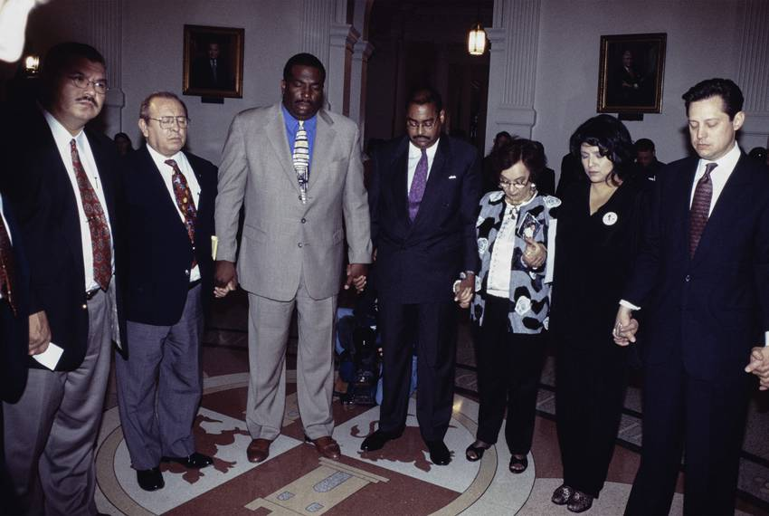 Photos COPYRIGHT Bob Daemmrich 1997, 1999, 2001.  All rights reserved. Sen. Royce West in action at the Texas Senate. Ye...