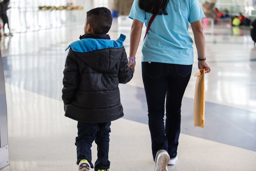 Maria, who is from Guatemala, said her 7-year-old son Jerson stopped eating, stopped going outside, and stopped saying much at all during four months of detention at the South Texas Family Residential Center in Dilley.