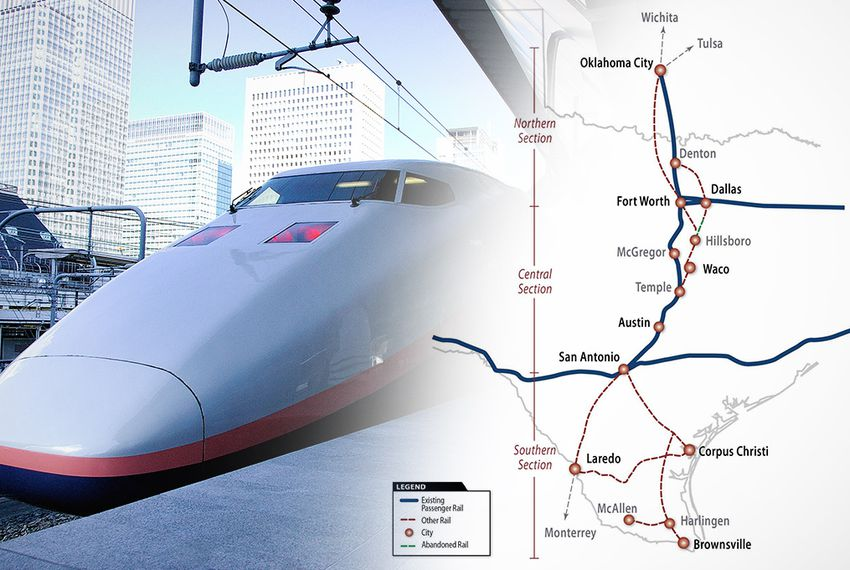 TxDOT Taking Steps to Further Explore High-Speed Rail | The
