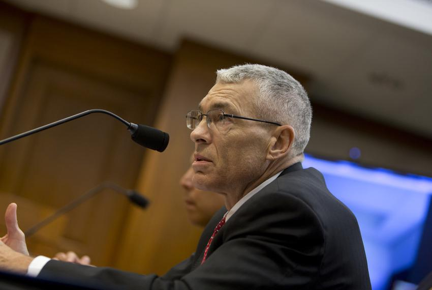 Texas DPS Director Steve McCraw during a September 20, 2016 House County Affairs committee hearing