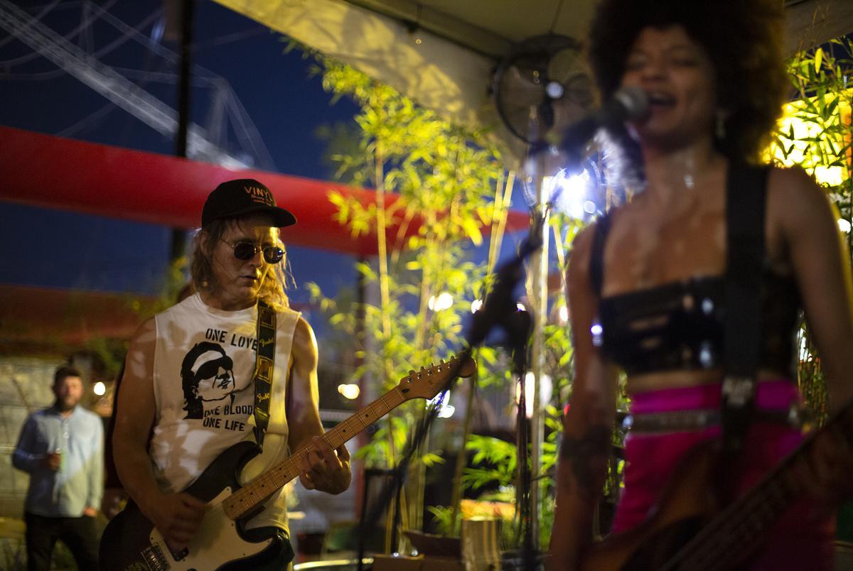 Pussy Gillette performed at Hotel Vegas on June 9, 2021.