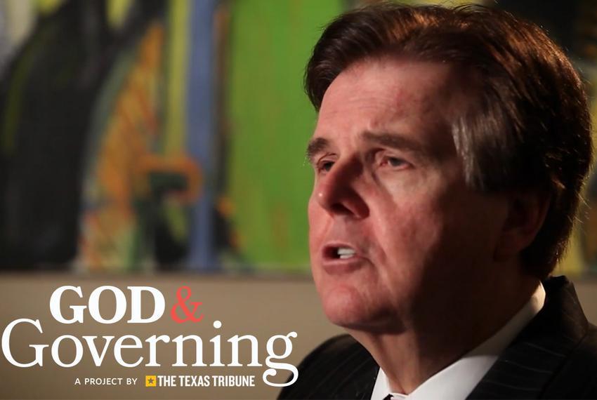 Texas Lieutenant Governor Dan Patrick.