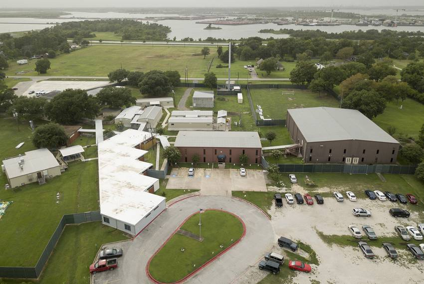 301 Ilfrey St., Baytown, Texas, a BCFS facility for immigrant minors, seen Sunday Aug 12, 2018.