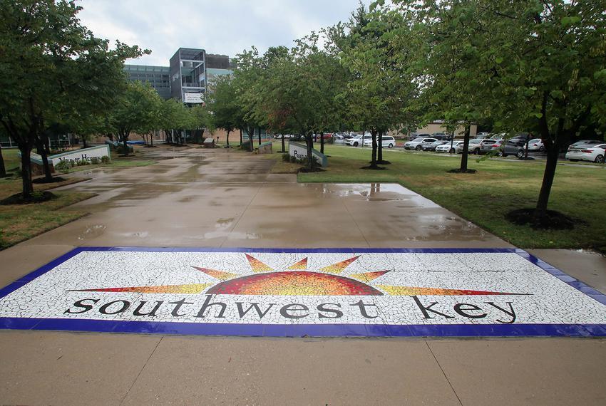 Southwest Key headquarters in Austin on June 19, 2018.