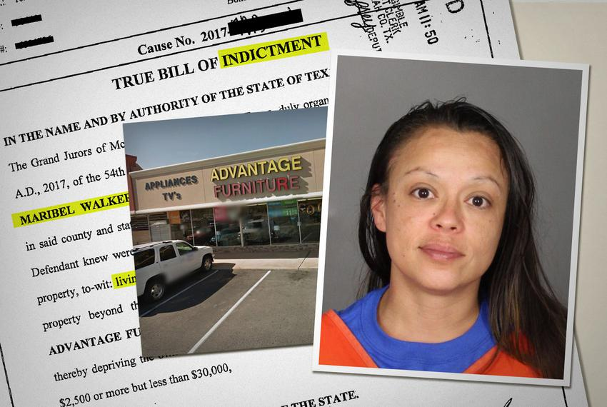 Maribel Walker rented bedroom and living room furniture in April 2015. When she forgot to make payments and failed to return…
