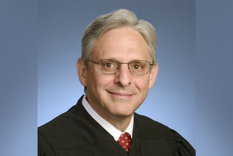 Merrick Garland, President Obama's Supreme Court nominee