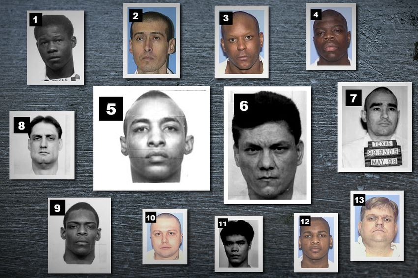 Dr. George Denkowski conducted psychological exams for more than a dozen current death row inmates. 1) Anthony Pierce 2) Virgilio Maldonado 3) Calvin Hunter 4) Derrick Charles  5) Steven Butler 6) John Matamoros 7) Joel Escobedo 8) Jamie McCoskey 9) Warren Rivers  10) Tomas Gallo  11) Kim Ly Lim 12) Alfred Brown 13) Coy Wesbrook