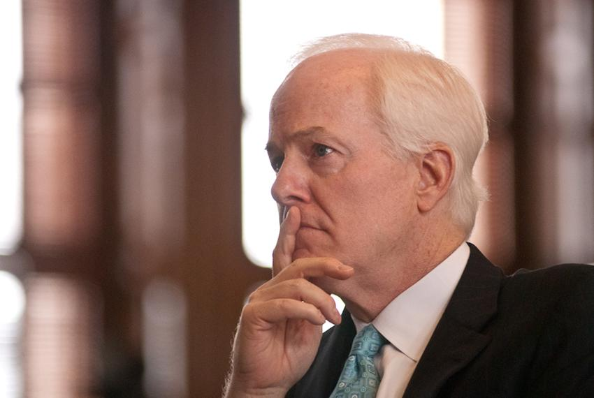 U.S. Sen. John Cornyn, R-Texas, in the House chamber of the Texas Capitol
